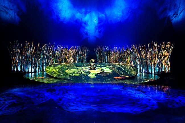 Cirque du Soleil Totem set design