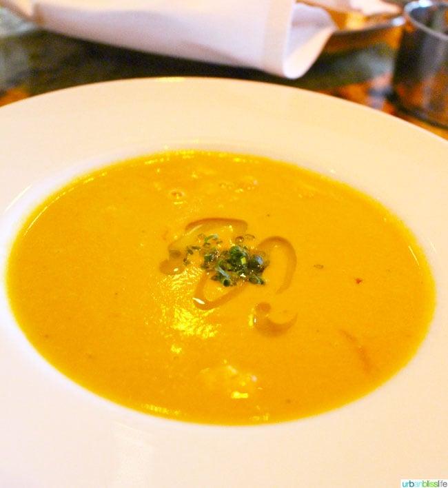 Ringside Fish House Portland Oregon restaurant lobster soup