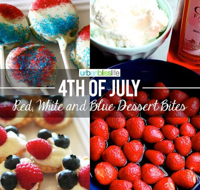 Fourth of July Dessert Recipes | UrbanBlissLife.com