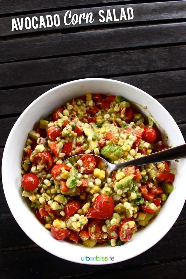 [Food Bliss] Avocado Corn Salad