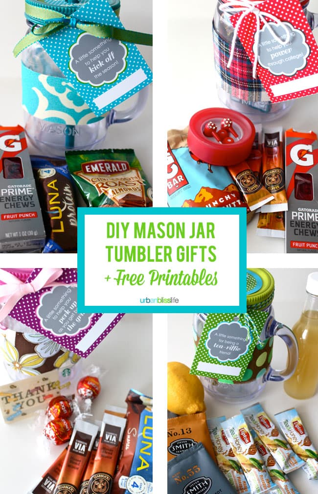 QVC Mason Jar Gifts and Free Printables
