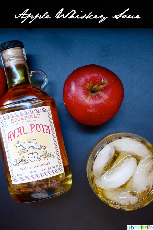 Apple Whiskey Sour