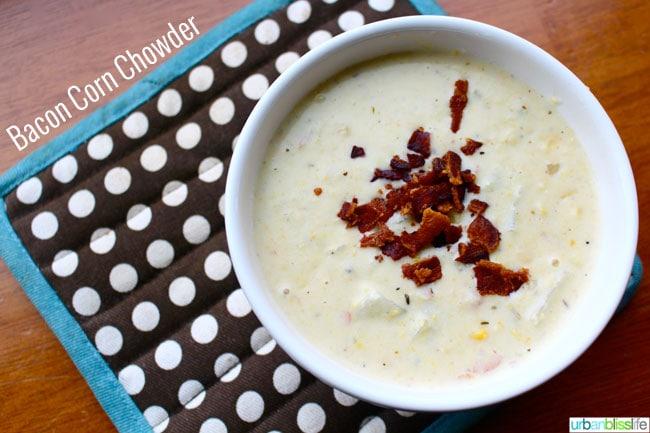 Bacon Corn Chowder recipe