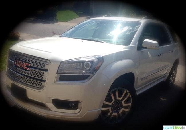 Car Review: 2014 GMC Acadia
