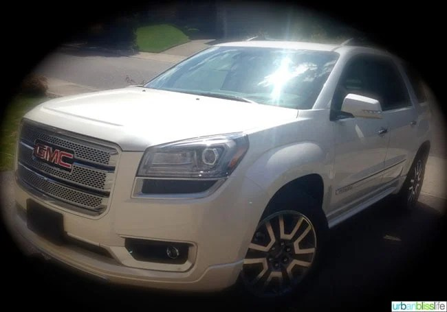 Car Review: 2014 GMC Acadia