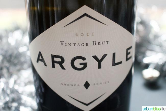 Argyle Brut New Year's Eve Wines | UrbanBlissLife.com