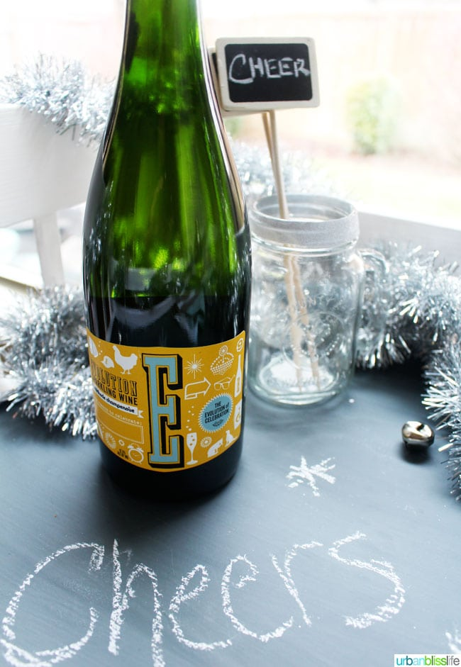 Evolution Sparkling New Year's Eve Wines   UrbanBlissLife.com