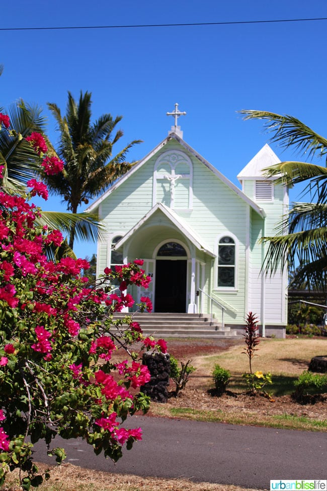 The Painted Church Hawaii Island