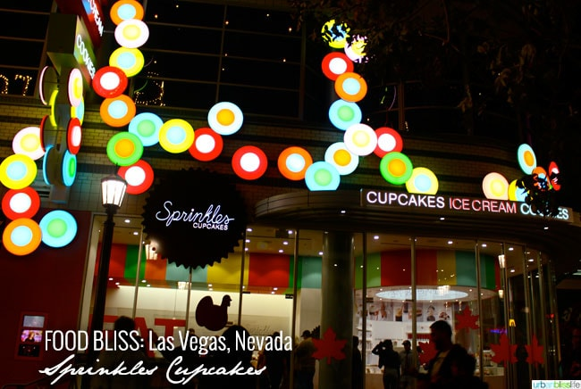 Las Vegas: Sprinkles Cupcakes on UrbanBlissLife.com