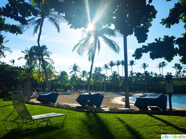 Mauna Lani Private Beach Hawaii