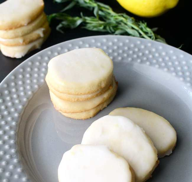 Lemon Iced Sugar Cookies by Urban Bliss Life