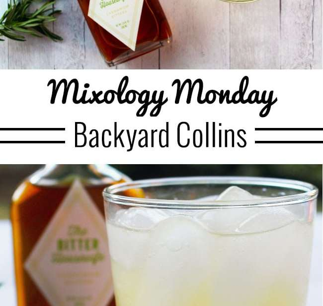 Mixology Monday: Backyard Collins cocktail recipe on UrbanBlissLife.com