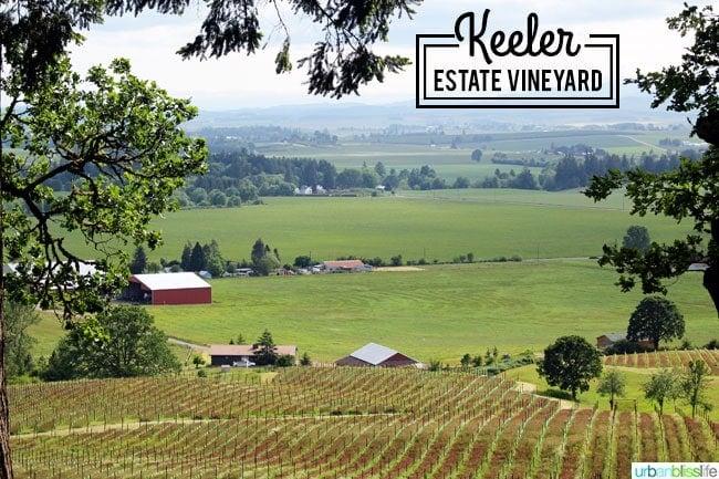 Keeler Estate Vineyards winery on UrbanBlissLife.com