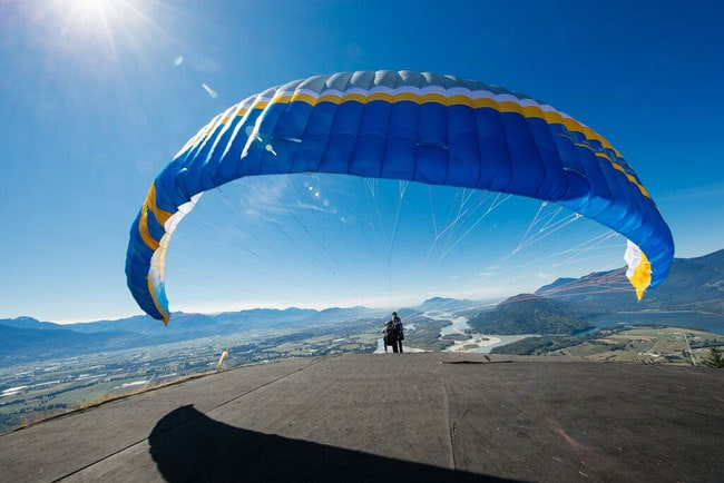 Paragliding over the Fraser Valley, British Columbia, Canada on UrbanBlissLife.com