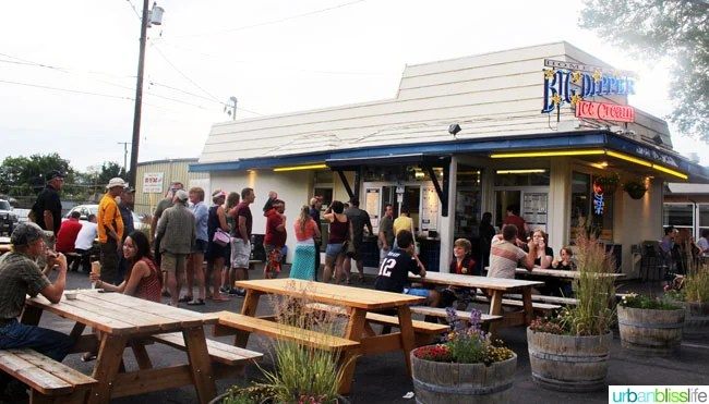 Where to Eat & Drink in Missoula, Montana (Big Dipper Ice Cream) on UrbanBlissLife.com