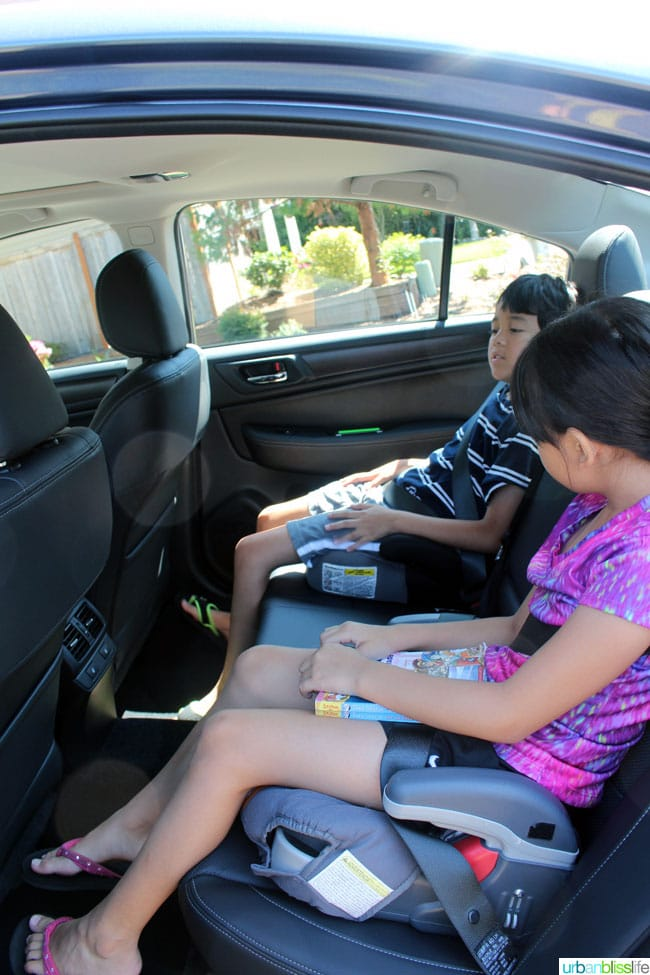 Subaru Legacy car review on UrbanBlissLife.com