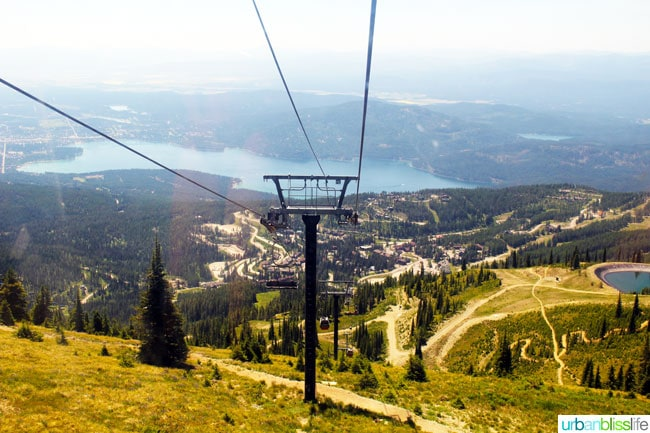 Whitefish Mountain Resort travel Montana tips on UrbanBlissLife.com