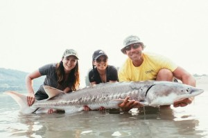 Cascade Sturgeon Fishing in the Fraser Valley, British Columbia. Travel tips on UrbanBlissLife.com
