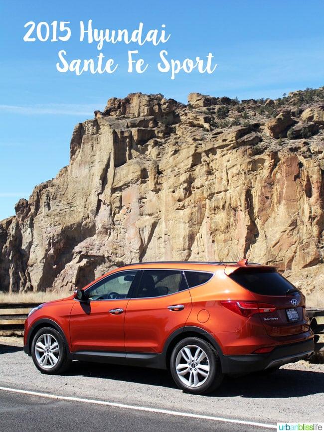 Hyundai Sante Fe Sport car review on UrbanBlissLife.com