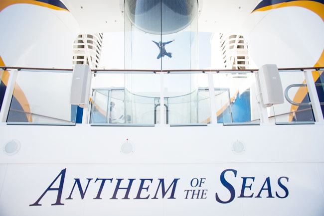 onboard Royal Caribbean's Anthem of the Seas / UrbanBlissLife.com