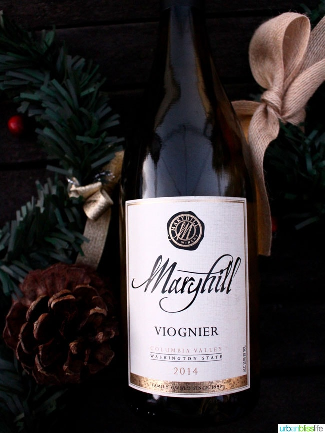 Top holiday wines: Maryhill Viognier on UrbanBlissLife.com
