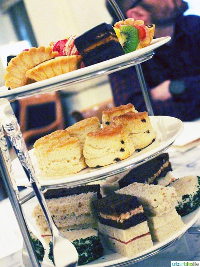 Hotel deLuxe Afternoon Tea in Portland, Oregon on UrbanBlissLife.com