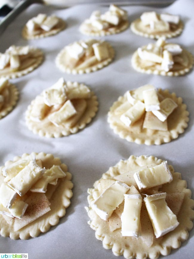 Brie and Pear Hand Pies recipe on UrbanBlissLife.com