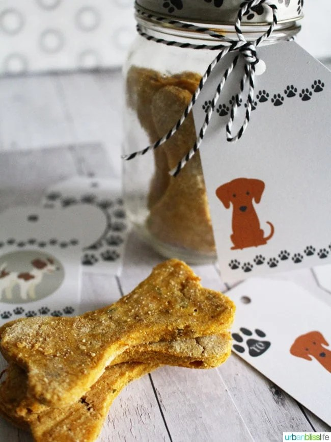 how to make homemade peanut butter dog treats