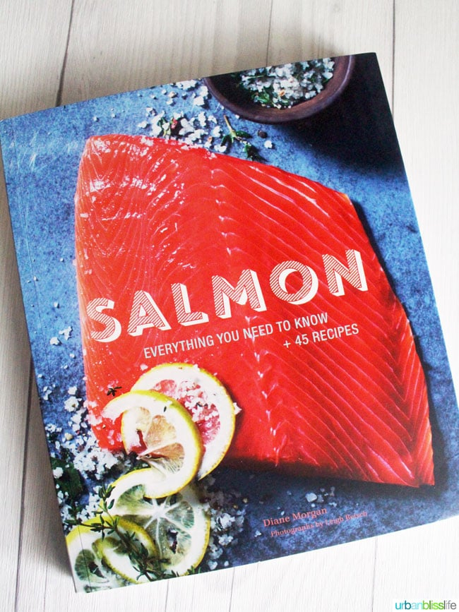 Salmon Cookbook Giveaway on UrbanBlissLife.com