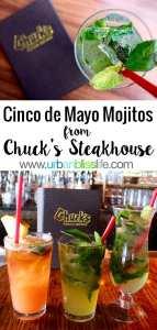 Cinco de Mayo Mojitos recipe on UrbanBlissLife.com