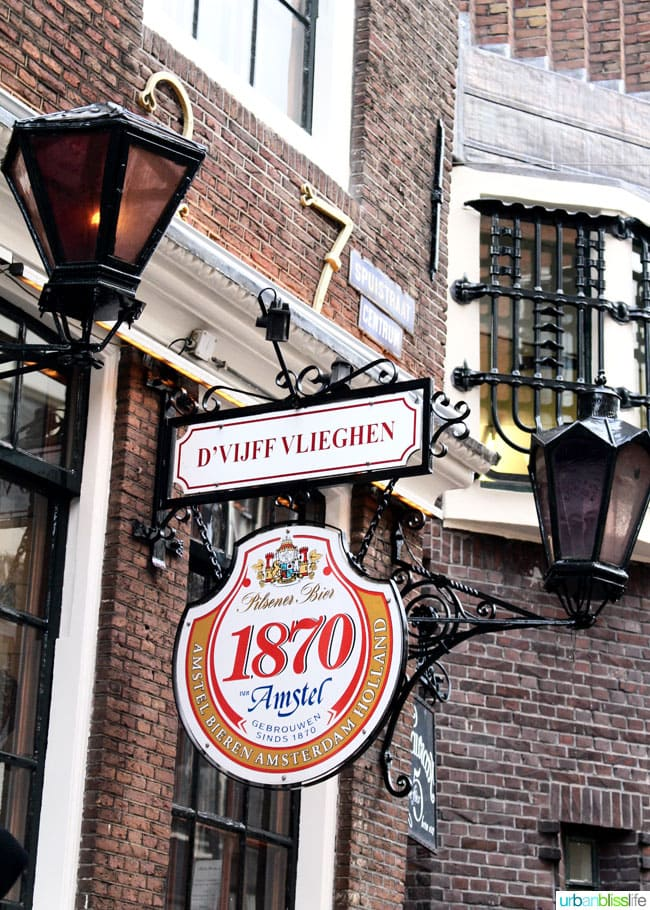 What to Eat and Drink in Amsterdam. Popular Dutch food, top restaurants, great outdoor markets. Read more on UrbanBlissLife.com