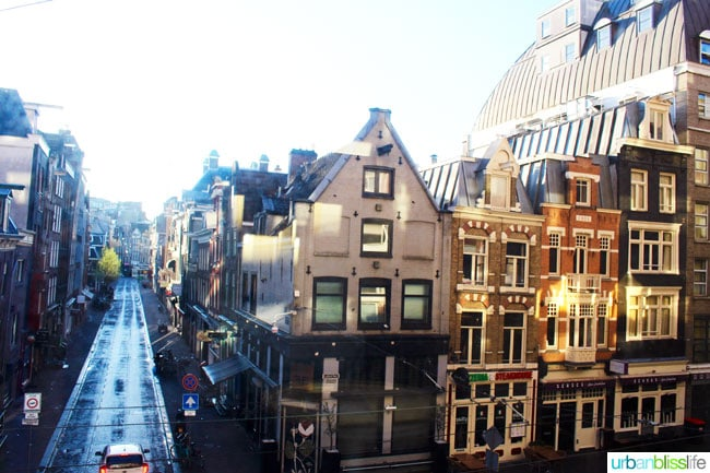 Where to Stay in Amsterdam. Two top hotel reviews on UrbanBlissLife.com