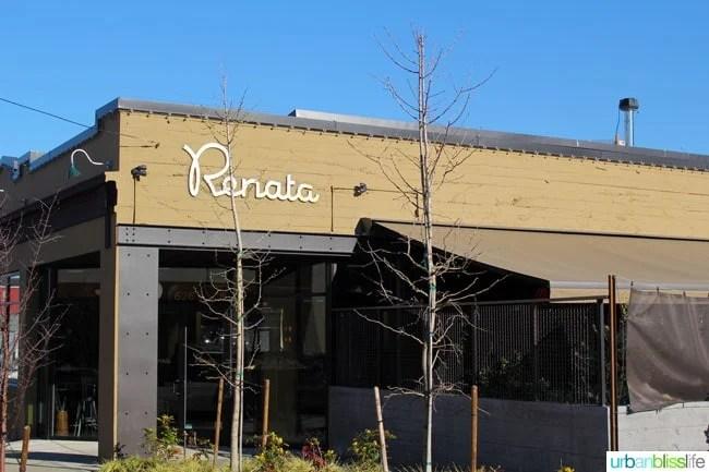 Renata restaurant in Portland, Oregon