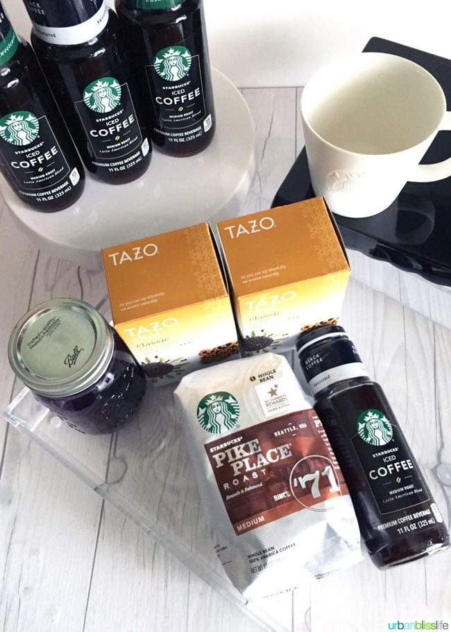 Starbucks Coffee travel fuel
