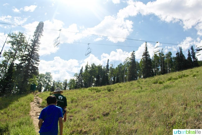Hiking the Silver Lake Trail in Park City, Utah, on UrbanBlissLife.com