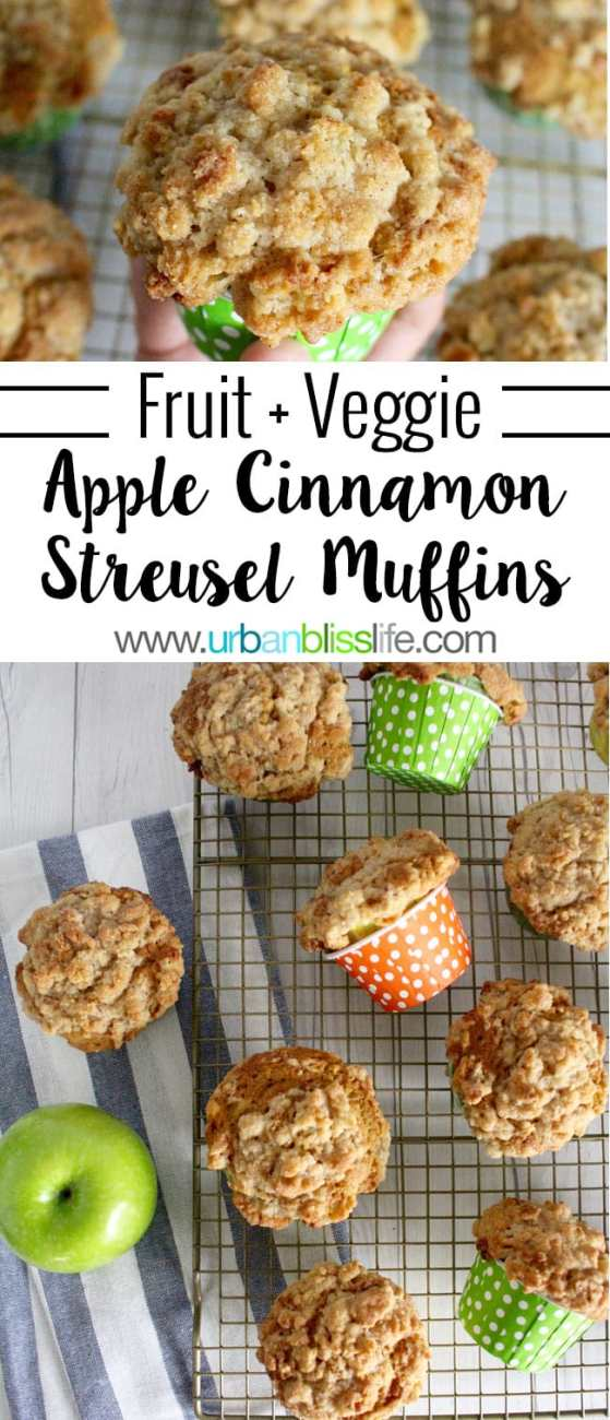Food Bliss: The BEST Apple Cinnamon Muffin Recipe (with carrots and zucchini!)