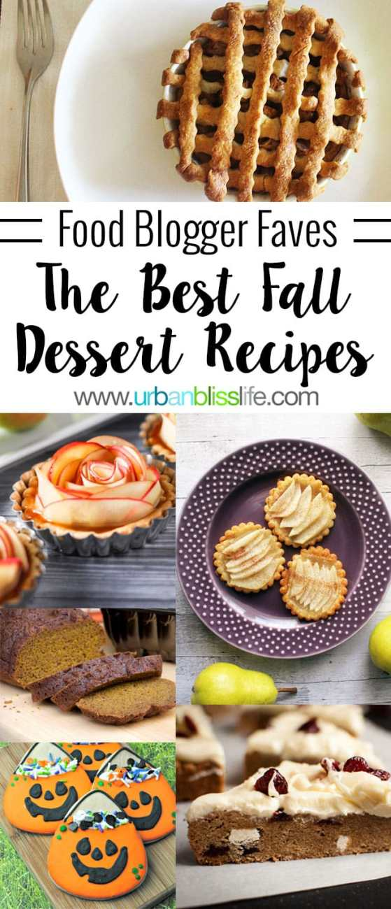 Food Bliss: Best Fall Dessert Recipes