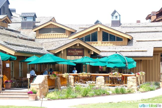 Royal Street Cafe is a lovely restaurant at the base of Deer Valley Resort in Park City, Utah. Full restaurant review on UrbanBlissLife.com