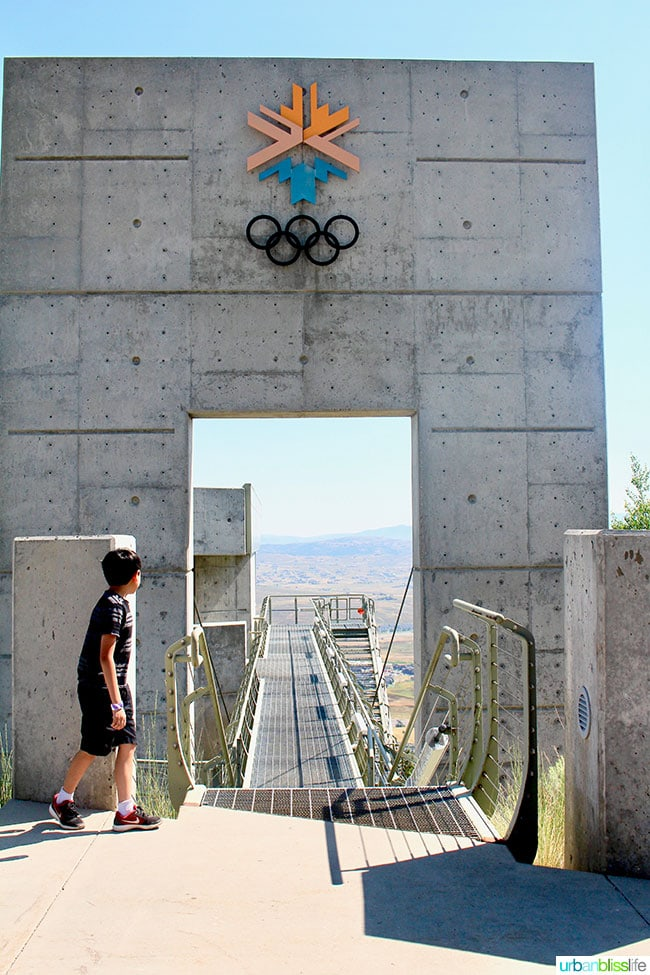 What to Do in Park City, Utah: Olympic Training, Zipline, Extreme Sports & more at Utah Olympic Park, on http://www.UrbanBlissLife.com