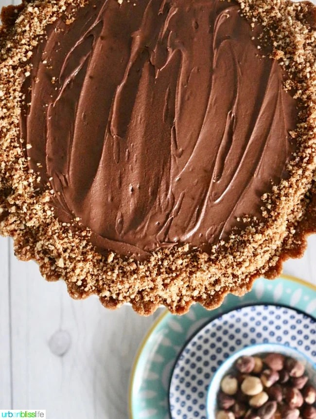 Food Bliss: Hazelnut Chocolate Pie