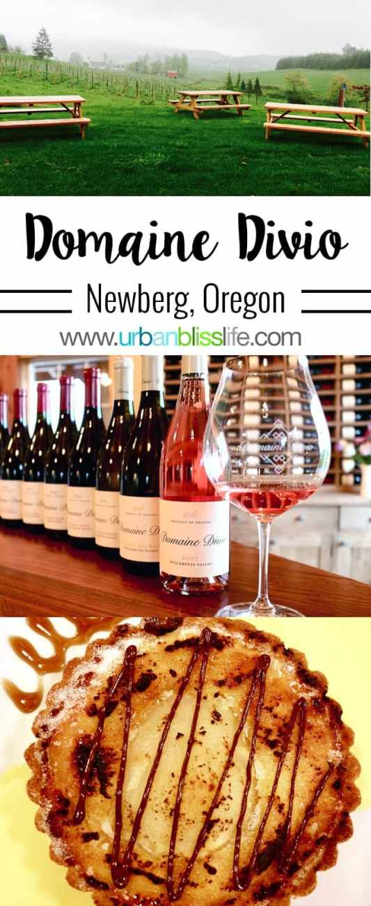 Wine Bliss: Domaine Divio in Newberg, Oregon