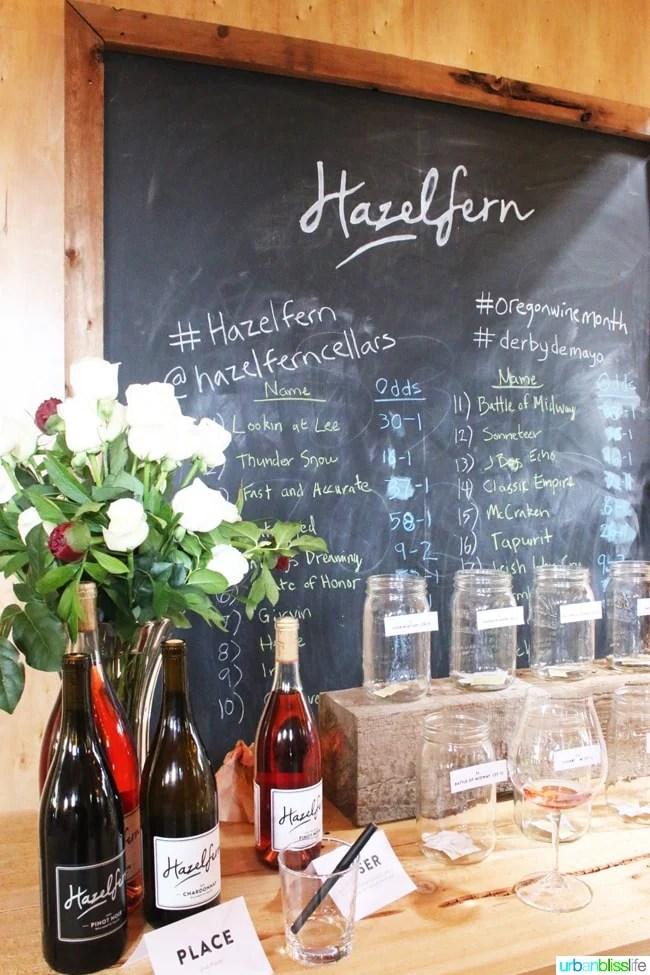Hazelfern-Cellars-Derby-de-Mayo-Board