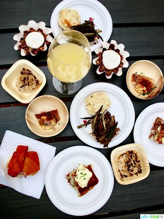 Feast Portland 2017 Best Bites and Sips Brunch Village