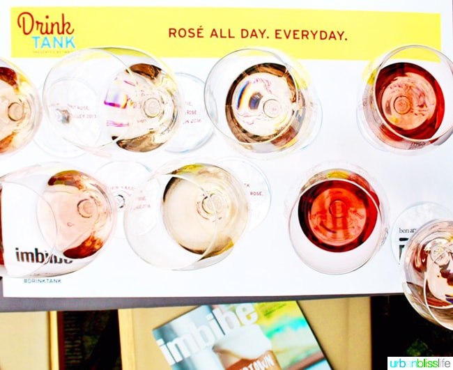 Feast Portland 2017 Drink Tank Rose All Day on UrbanBlissLife.com