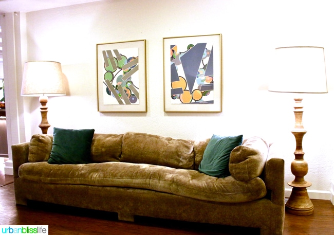 Ashland Hills Hotel and Suites mod furniture walkway, hotel review and travel tips on UrbanBlissLife.com