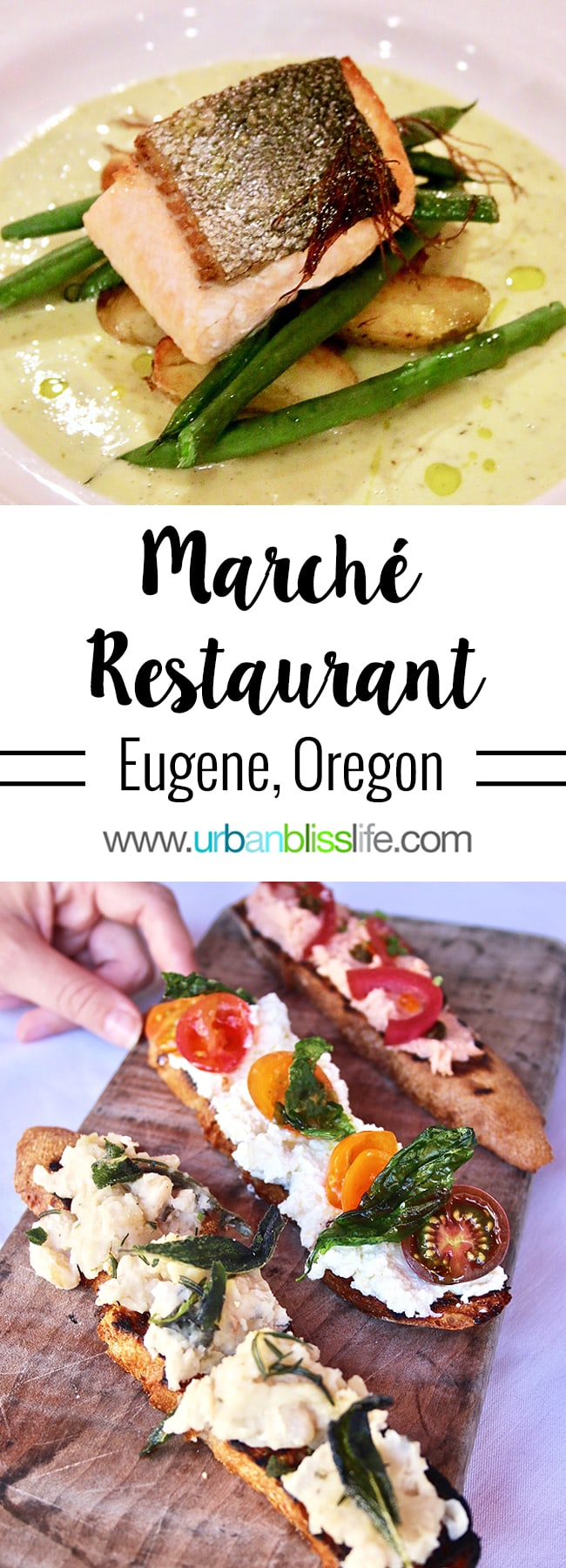French-inspired Pacific Northwest cuisine at Marche restaurant Eugene Oregon, restaurant review on UrbanBlissLife.com