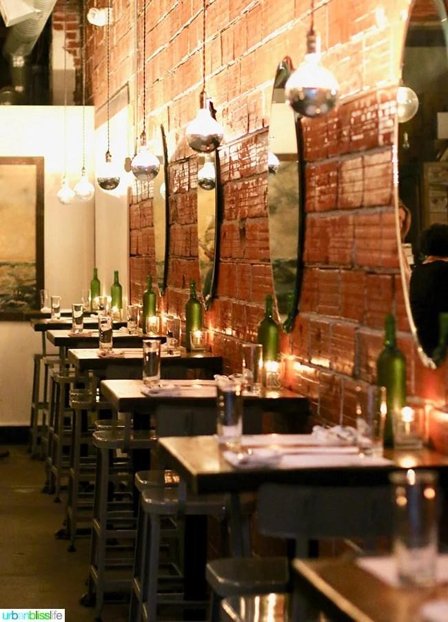 Radar restaurant and bar in Portland, Oregon. Restaurant review on UrbanBlissLife.com