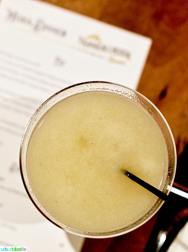 cocktail at Tanner Creek Tavern Portland, Oregonrestaurant review on UrbanBlissLife.com.