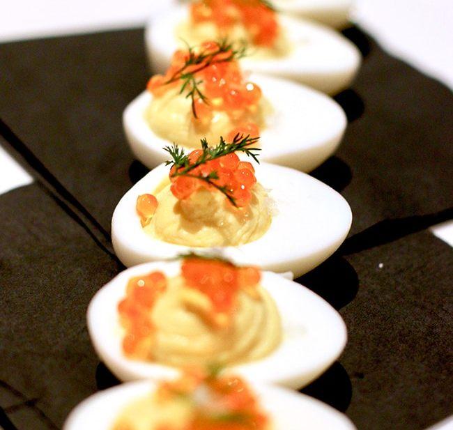 deviled eggs at Tanner Creek Tavern Portland, Oregonrestaurant review on UrbanBlissLife.com.
