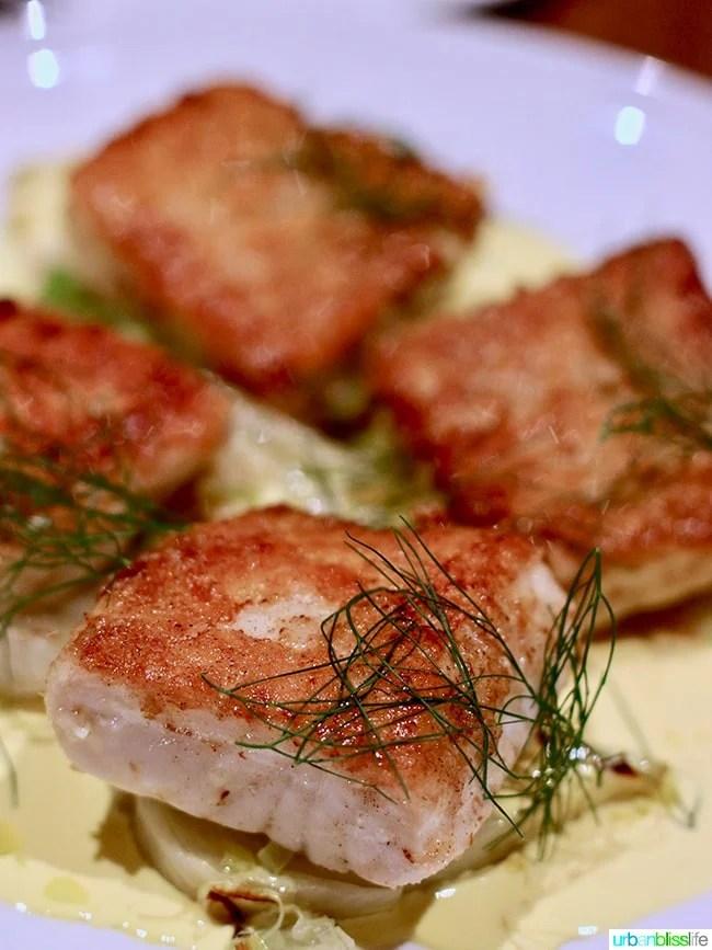 sturgeon at Tanner Creek Tavern Portland, Oregonrestaurant review on UrbanBlissLife.com.